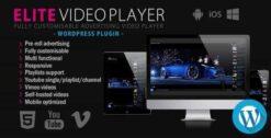Elite-Video-Player-WordPress-plugin-GPLTop