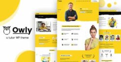 Owly-Tutoring-eLearning-WP-Theme-GPLTop