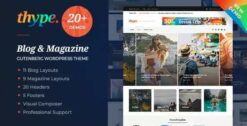 Thype-Personal-Blog-Travel-WordPress-Theme-GPLTop