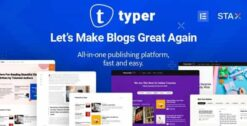 Typer-Amazing-Blog-and-Multi-Author-Publishing-Theme-GPLTop