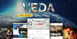 VEDA –Multi-Purpose-Theme-GPLTop