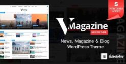 Vmagazine-Blog-NewsPaper-Magazine-WordPress-Themes-GPLTop