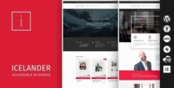 Icelander-Accessible-Business-Portfolio-WooCommerce-WordPress-Theme-gpltop