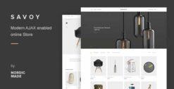Savoy-Minimalist-AJAX-WooCommerce-Theme-GPLTop