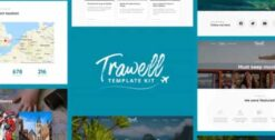 Trawell-Travel-Blog-Elementor-Template-Kit-GPLTop